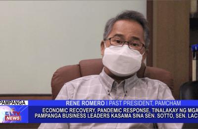 Economic Recovey, Pandemic Response, tinalakay ng mga Pampanga Business Leaders kasama sina Sen. Sotto, Sen. Lacson