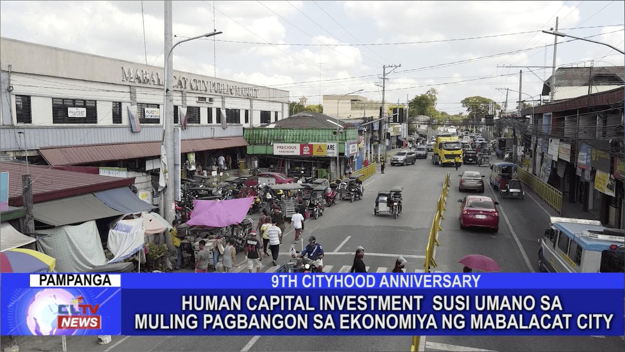 Human Capital Investment susi umano sa muling pagbangon ng ekonomiya ng Mabalacat City