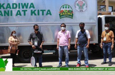 Kaloob ng DA na KADIWA truck sa Talugtog, Nueva Ecija, malaking ginhawa sa mga magsasaka   Agri-Balita Central Luzon