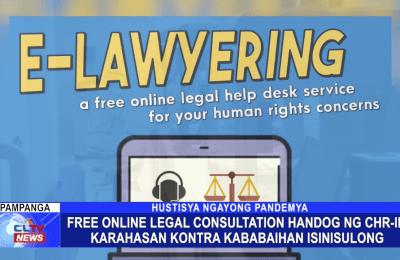 Free online legal consultation handog ng CHR-III, karahasan kontra kababaihan isinisulong