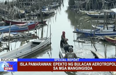 Isla Pamarawan: epekto ng Bulacan Aerotropolis sa mga mangingisda