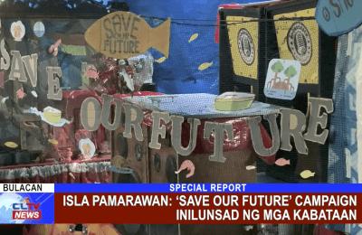 Isla Pamarawan: 'Save Our Future' campaign inilunsad ng mga Kabataan