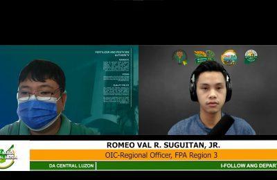 Tugon ng Department of Agriculture sa taas presyong abono sa merkado   Agri-Balita Central Luzon