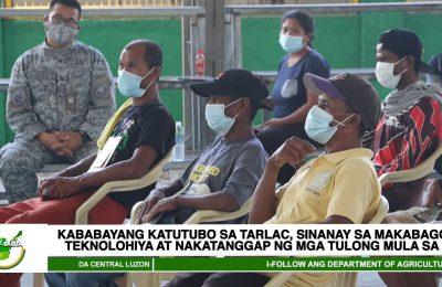 Kababayang katutubo sa Tarlac, sinanay sa makabagong teknolohiya at nakatanggap ng mga tulong mula sa DA | Agri-Balita Central Luzon