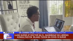 Ilang Nurse at Doctor sa CL, nagbibigay ng libreng konsultasyon bilang tugon sa COVID-19 surge