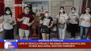 Lapis at Krayola Project inilunsad upang makatulong sa mga mag-aaral ngayong pandemya