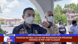 Pakikiisa ng mga LGU sa PNP Modernization Program, hinihingi ni PNP Chief Eleazar