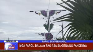 Mga Parol, dala ay pag-asa sa gitna ng Pandemya