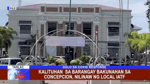 Kalituhan sa Barangay Bakunahan sa Concepcion, nilinaw ng Local IATF