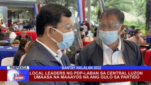 Local Leaders ng PDP-Laban sa Central Luzon umaasa na maaayos na ang gulo sa partido