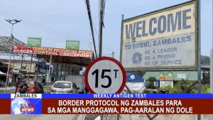 Border Protocol ng Zambales para sa mga manggagawa, pag-aaralan ng DOLE