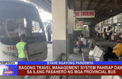 Bagong Travel Management System pahirap daw sa ilang pasahero ng mga Provincial Bus