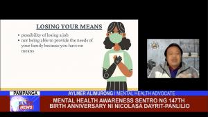 Mental Health Awareness sentro ng 147th Birth Anniversary ni Nicolasa Dayrit-Panlilio