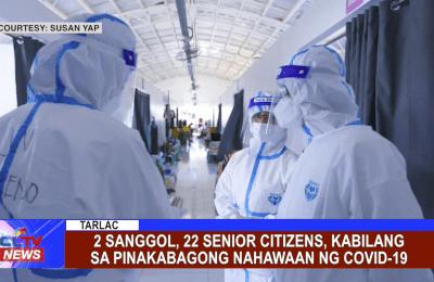 2 Sanggol, 22 Senior Citizens, kabilang sa pinakabagong nahawaan ng Covid-19