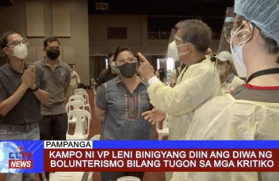 Kampo ni VP Leni binigyang diin ang diwa ng bolunterismo bilang tugon sa mga Kritiko