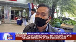 Gapan City Mayor Emeng Pascual, Rep. Natividad-Magaño posibleng magharap sa congressional race