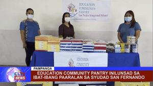 Education Community Pantry inilunsad sa ibat-ibang paaralan sa Syudad San Fernando