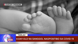 9-day old na sanggol nagpositibo sa covid-19