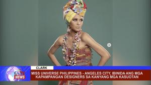 Miss Universe Philippines - Angeles City, ibinida ang mga Kapampangan Designers sa kanyang mga kasuotan
