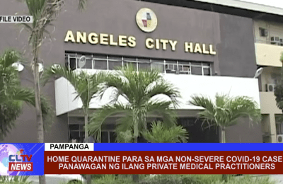 Home quarantine para sa mga non-severe covid-19 case, panawagan ng ilang private medical practitioners