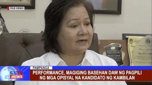 Performance, magiging basehan daw ng pagpili ng mga opisyal na kandidato ng Kambilan