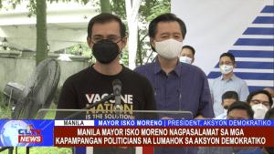 Manila Mayor Isko Moreno nagpasalamat sa mga Kapampangan Politicians na lumahok sa Akson Demokratiko