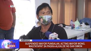 Suspended Mayor Punsalan, Acting Mayor Wong, magtatapat sa pagka-alkalde ng San Simon