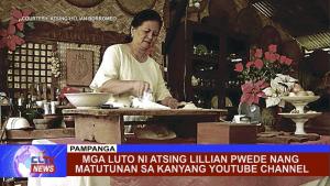 Mga luto ni Atsing Lillian pwede nang matutunan sa kanyang Youtube Channel