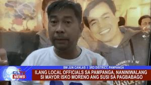 Ilang Local Officials Pampanga, naniniwalang si Mayor Isko Moreno ang susi sa pagbabago
