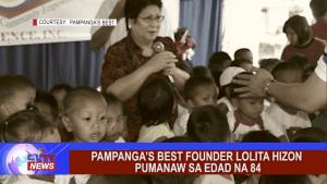 Pampanga's Best Founder Lolita Hizon pumanaw sa edad na 84