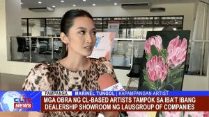 Mga obra ng CL-based artists tampok sa iba't ibang dealership showroom ng Lausgroup of Companies
