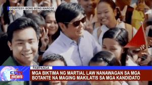 Mga biktima ng Martial Law nanawagan sa mga botante na maging makilatis sa mga kandidato