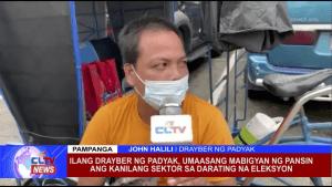Ilang drayber ng padyak, umaasang mabigyan ng pansin ang kanilang sektor sa darating na eleksyon