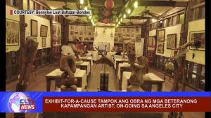 Exhibit-for-a-cause tampok ang obra ng mga beteranong Kapampangan artist, on-going sa Angeles City