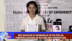Mga baguhan at nagbabalik sa politika naghain na ng kanilang kandidatura