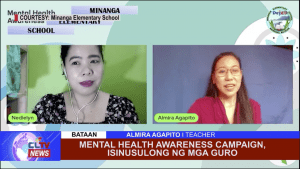 Mental health awareness campaign, isinusulong ng mga guro
