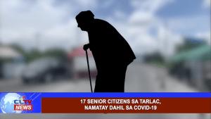 17 senior citizens sa Tarlac, namatay dahil sa COVID-19