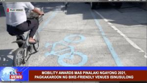 Mobility Awards mas pinalaki ngayong 2021, pagkakaroon ng bike-friendly venues isinusulong