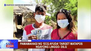 Pamamahagi ng 'ECQ ayuda' target matapos ngayong linggo- DILG
