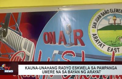 Kauna-unahang radyo eskwela sa Pampanga umere na sa bayan ng Arayat