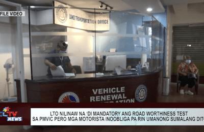 LTO nilinaw na 'di mandatory ang road worthiness test sa PMVIC pero mga motorista inoobliga pa rin umanong sumalang dito