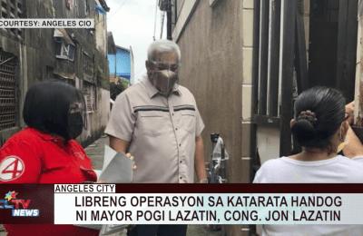 Libreng operasyon sa katarata handog ni Mayor Pogi, Cong. Jon Lazatin